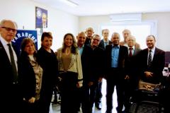 Recepção de comemoração de 1 ano da FDC na Sede com Lideres da DC de todo Brasil e Membros da FDC.