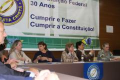 Evento em São Paulo de Comemoração de 30 anos da Constituição Federal / Cumprir e Fazer Cumprir a Constituição!